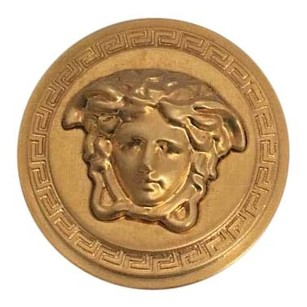 Versace NEW NWT Authentic Versace Gold Tone Classic Iconic Medusa Coin Ring w/ BOX