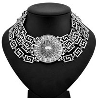 Versace Sale, VERSACE For H&M, Silver Medallion Choker, Limted Edition