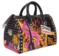 Versace Sold Out 2005 Chaos Couture Snap Out Of It Handbag Satchel in Multi-Color