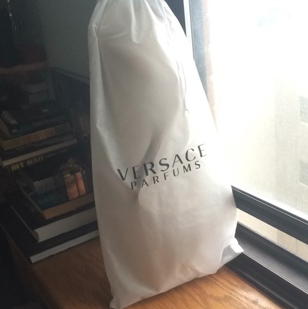Versace Travel Hardware Tote in gold