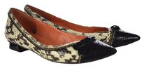 Via Spiga Womens Animal Black Flats