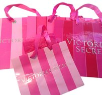 Victoria's Secret 4 Victoria's Secret shopping bags