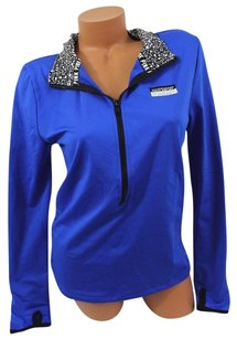 Victoria's Secret Pink Lultimate Pullover Solid Royal Sweatshirt