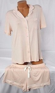 Victoria's Secret Victorias Secret Setmodal Sleep Shirt Shortpajama Light Pink 15t7