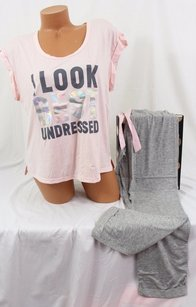 Victoria's Secret Victorias Secret Setpillowtalk Tee-jama Pajama Pj Look Best Undressed