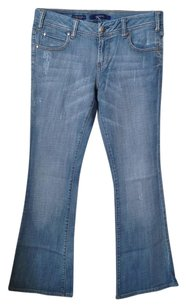 Vigoss Denim Large Flare Leg Jeans-Medium Wash