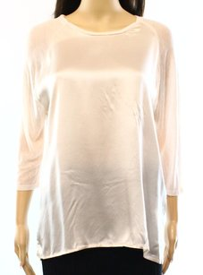 Vince 3-4-sleeve New With Defects Silk 3300-3216 Top