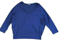 Vince Comfortable T Shirt Blue
