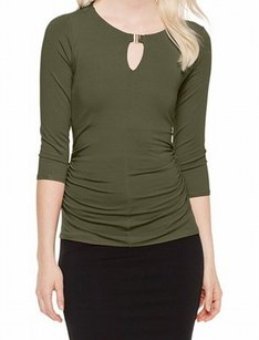 Vince Camuto 3/4 Sleeve 9155649 Top