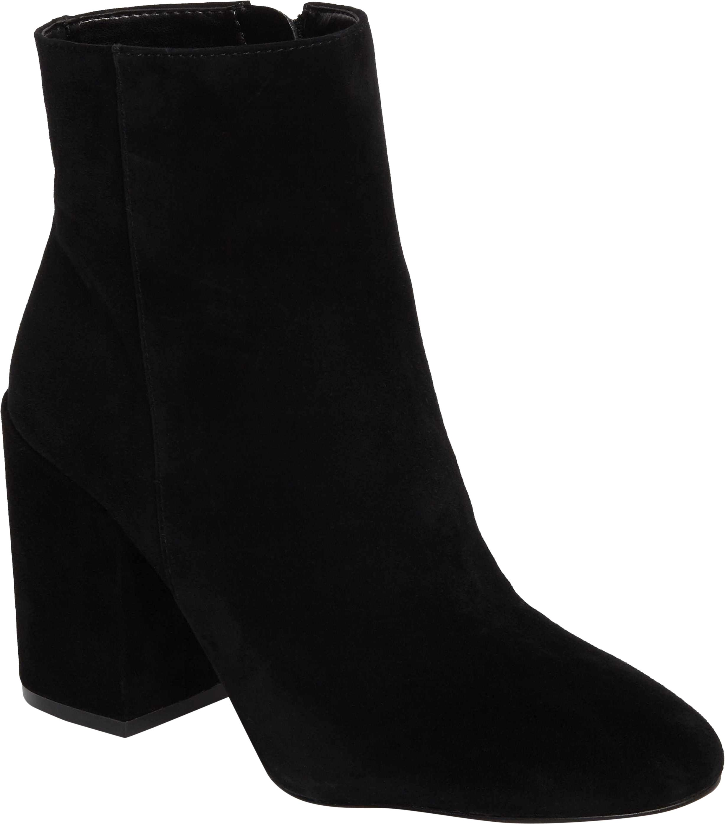Vince Camuto Black Destilly Suede Leather Ankle Boots/Booties Size US 8.5 Regular (M, B)