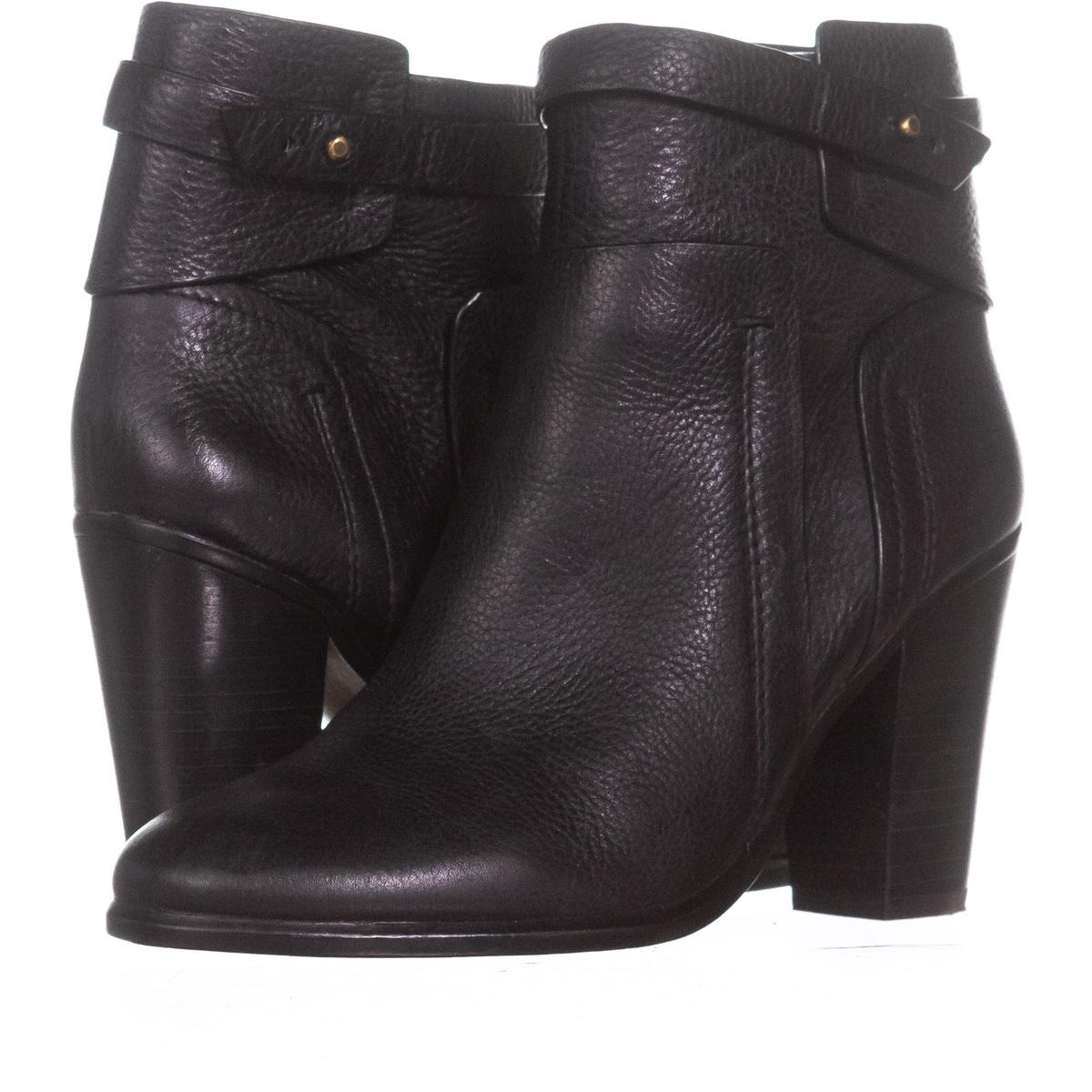 471b191f69bf Vince Camuto Black Faythe Ankle Strap 100   36.5 Eu Eu Eu Boots Booties Size  US 6.5 Regular (M
