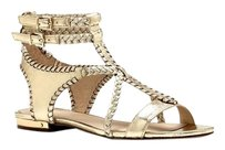Vince Camuto Blair Braided gold Sandals