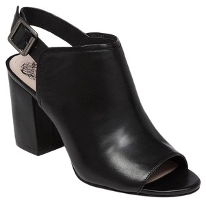 Vince Camuto Brianny Peep Toe black Boots