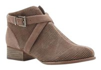Vince Camuto Casha Perforated SMOKE TAUPE TRUE SUEDE Boots