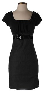 Vince Camuto High Waist Belted Dress