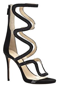Vince Camuto Imagine Dash Studded Gladiator Dress Heel black Sandals