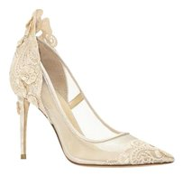 Vince Camuto Imagine Ophelia VANILLA SATIN/MESH/LACE Pumps