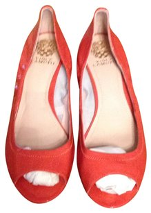 Vince Camuto Salmon Wedges
