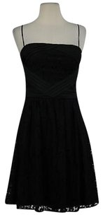 Vince Camuto Womens Lace Formal Above Knee Spaghetti Strap Dress