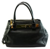 Vince Camuto Black Pebble Shoulder Bag