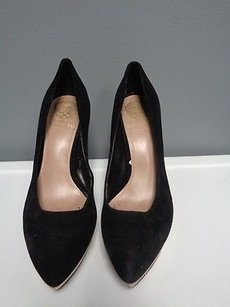 Vince Camuto Nwd Platform Embellished Heels 3216 Black And Tan Pumps
