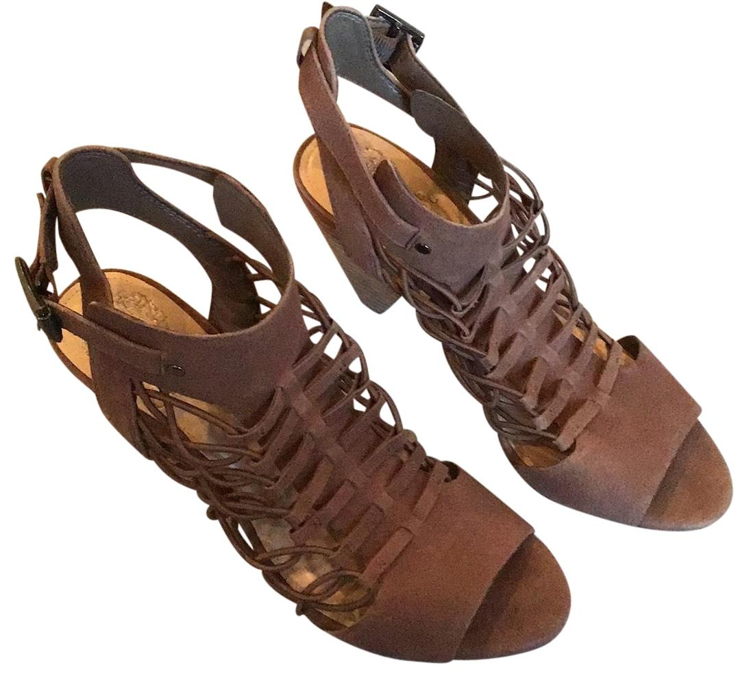 Vince Camuto Taupe Gladiator Sandals Size US 8 Regular (M, B)