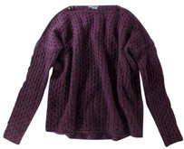 Vince High Knit Low Open Sa Sweater