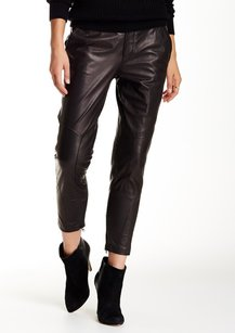 Vince Leather New With Defects Pants