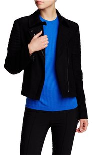 Vince Quilted Wool Black Jacket