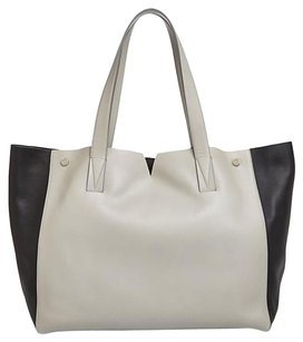 Vince Tote in Black And Beige