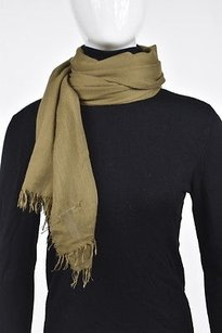 Vince Vince Womens Brown Scarf One Thin Viscose Blend Casual