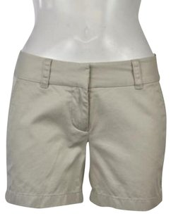 Vineyard Vines Womens 0 Casual Cropped Trousers Pants Shorts Beige