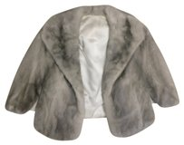 Vintage Mink FUR WEDDING CAPE Cape
