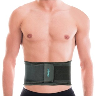 VIVE Lower Back Brace by Vive - Back Support Belt for Injury Recovery and Prevention