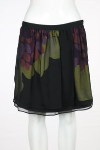 W118 by Walter Baker Womens Floral Skirt Black