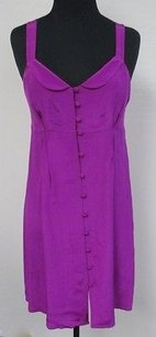 W118 by Walter Baker short dress Purple Silk Lined Spaghetti Strapped Button Front Summer U473 on Tradesy