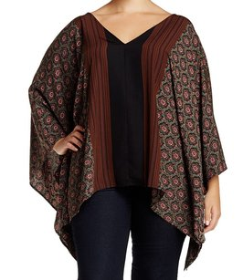 West K 100% Polyester Batwing Top