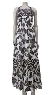 Black,white Maxi Dress by White House | Black Market