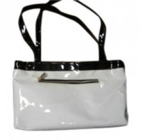 Other Tote in White/Black