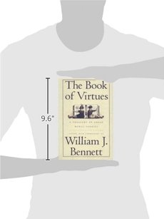 William Bennett The Book of Virtues Hardcover