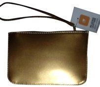Wilsons Leather Wristlet in Gold
