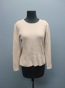 Worth Light Cashmere Ribbed Casual Knit Crewneck Sm4400 Sweater