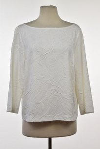 Worth Womens Textured Top White