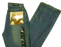 XOXO 5 6 Skinny Jeans-Medium Wash