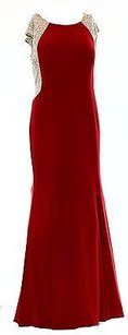 Xscape short dress Reds Red Jewel Sleeveless on Tradesy
