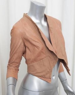 Yigal Azroul Azrouel Womens Brown Jacket