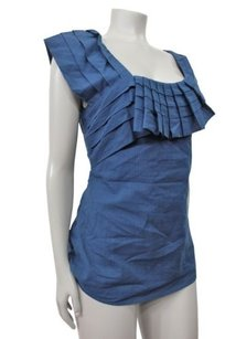 Yoana Baraschi Soft Drapes Top Blue