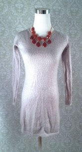 Young Fabulous & Broke short dress Gray Pale Sequin Mohair Sweater Mini on Tradesy