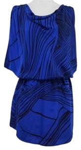 Yumi Kim short dress Blue & Black on Tradesy