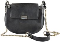 Zara Chain Motorcycle Cross Body Bag